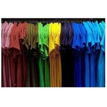 Franelas Unicolores Para Bordar Estampar O Uniforme