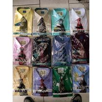 Camisas Aeropostal De Caballeros Con Corbata De Regalo