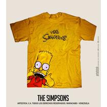 Franelas Estampadas The Simpsons, Nuevos Diseños!!