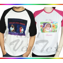Franelas Personalizadas, Sublimacion-estampadas A Full Color