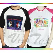 Franelas Personalizadas, Sublimacion-estampadas A Full Color