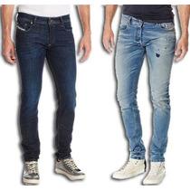 Pantalones Jeans Caballeros Diesel Stretch Mayor Y Detal