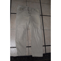 Pantalones Jeanstalla 36wrangler Beige Caballero Importado