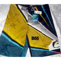 Shores Bermudas Quicksilver Talla Grande 40 42 44 46 48