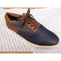 Zapato Aldo Casual Para Caballero (marron - Gris)