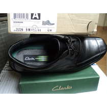 Zapatos Clarks De Caballero De Vestir Newmann Oxford 41