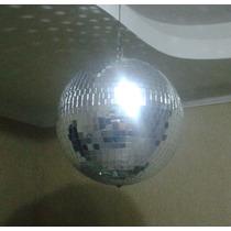 Bola De Espejo Disco Profesional 40 Cms 16 Pulg. Nueva