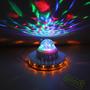 Mini Bola Laser De Led Tipo Estrella Crystal Light Dj