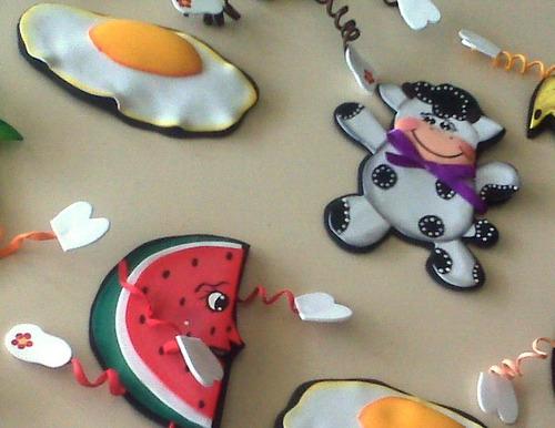Imagenes de frutas para nevera en foami - Imagui