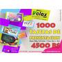 1000 Tarjetas De Presentacion Bs 4500 F/c Glasé 300gr