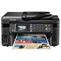 Multifuncional Epson Workforce 3620 Wifi Fax Escáner Duplex