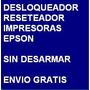Desbloqueador Reset Impresora Epson Tx220 - Envio Gratis