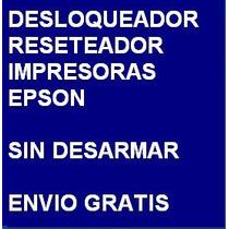 Desbloqueador Reset Impresora Epson Cx5600 - Envio Gratis
