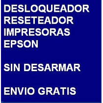 Desbloqueador Reset Impresora Epson Cx9300 Envio X Internet
