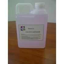Solvente Limpiador Cabezales Cartuchos Hp Epson 1 Litro