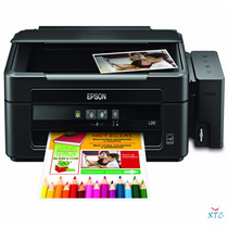 Multifuncional Epson L210 Sistema De Tinta Continuo Escaner