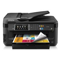 Impresora Profesio Epson Wf-7610 Tabloide + Sistema Continuo