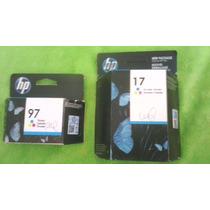 Cartucho Para Impresora Hp 17 Y Hp 97 A Color Original!!