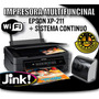 Impresora Epson Multifuncional Xp211 Con Sistema De Tinta