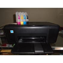 Impresora Multifuncional Hp Deskjetf2480 Y Sistema De Tinta!