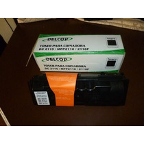 Toner Delcop Para Copiadora, Dc 2115/ Mfp2118 /2118f