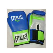Guante De Boxeo O Tae Bo, Marca Everlast. Verde/azul 14onzas