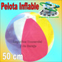 Pelota Inflable 50 Cm Diametro Marca Splash De Colores