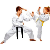 Kimono Karategui Karate Bushido Kumite Wkf Para Niños