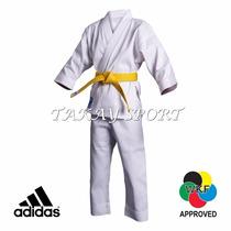 Karategui Adidas Club Talla 120 Uniforme De Karate Wkf