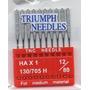 Aguja,agujas, Para Bordadora Domesticas,paquetes De 10 Pzas