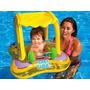 Flotador Inflable Para Bebe Con Parasol Desmontable 56581
