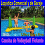 Cancha De Volleyball Inflable + Pelota Intex Piscina 56508