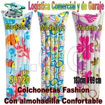 Colchon Colchoneta Flotadora Inflable Adulto Intex 59720