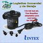 Bomba Electrica Para Inflar Colchon Botes Intex 110 V