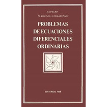 Libro, Problemas De Ecuaciones Diferenciales Ordinarias Mir.