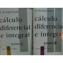 Vendo Combo 2 Vol Calculo Diferencial E Integral De Piskunov