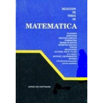 Libro, Selección De Temas De Matemáticas 5to Año De Hoffmann