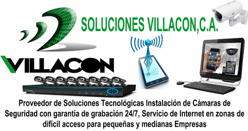 Instalacion Configuración De Camaras Y Computadoras Villacon