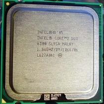 Procesador Core 2 Duo E6300 1.86ghz/2mb/1066mhz Socket 775