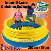 Colchon Saltarin Inflable Intex Jump O Lene Brinca 48267