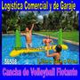 Cancha De Volleyball Inflable + Pelota Intex Piscina 56508