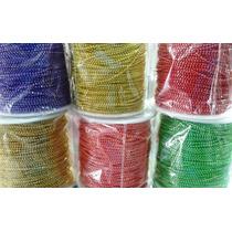 Cadena De Colores Perlas Corridas Material Para Fabricar