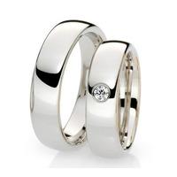 Aros De Matrimonio En Plata Ley 950