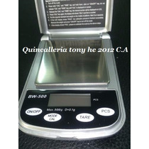 Peso Balanza Joyero Portatil Electronica Digital 1g-500g