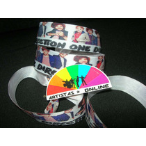 Pulseras - Cinta Raso One Direction (donacion Beneficiencia)