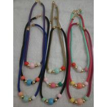Collares Con Perlas De Colores Y Mas