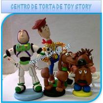 Centro De Torta De Toy Story En Masa Flexible