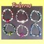 Pulseras Variadas De Cristal, Perlas Y D+