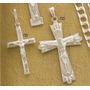 Cruz Con Cristo Plata 925 Referencia 723 Mimi Joyeria