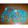 Preciosos Collares De Piedras Semi-preciosas Turquesas